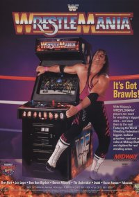 WWF WrestleMania – фото обложки игры