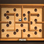 Wooden Labyrinth 3D – фото обложки игры