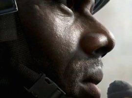 На первом снимке Call of Duty 2014 виднеются поры кожи солдата