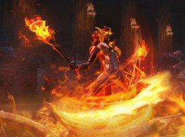 В Skyforge вышло обновление «Из пламени». Пиромант уже в игре