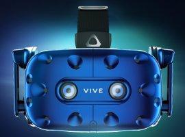 CES 2018: HTC анонсировала VR-шлем Vive Pro ибеспроводной адаптер для Vive