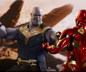 Игрушечный Танос от Hot Toys знает две главные злодейские эмоции. Но собрал ли он все Камни?