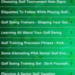 Скриншот All About Golf For Seniors – Изображение 5