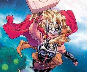 Marvel почтит смерть Тора серией вариативных обложек сбогиней грома