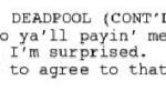 Дональд Гловер выложил 15 страниц сценария мультфильма по«Дэдпулу», вкотором шутит оботмене шоу. - Изображение 2
