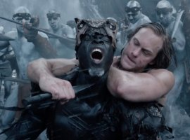 Тарзан и стадо буйволов спасают Джейн в новом трейлере
