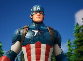 Капитан Америка прибыл вFortnite