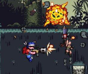 Пиксельный шутер Mercenary Kings высадится на PS4 в апреле