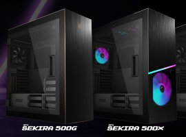 MSI представила трио игровых корпусов MPG Sekira 500
