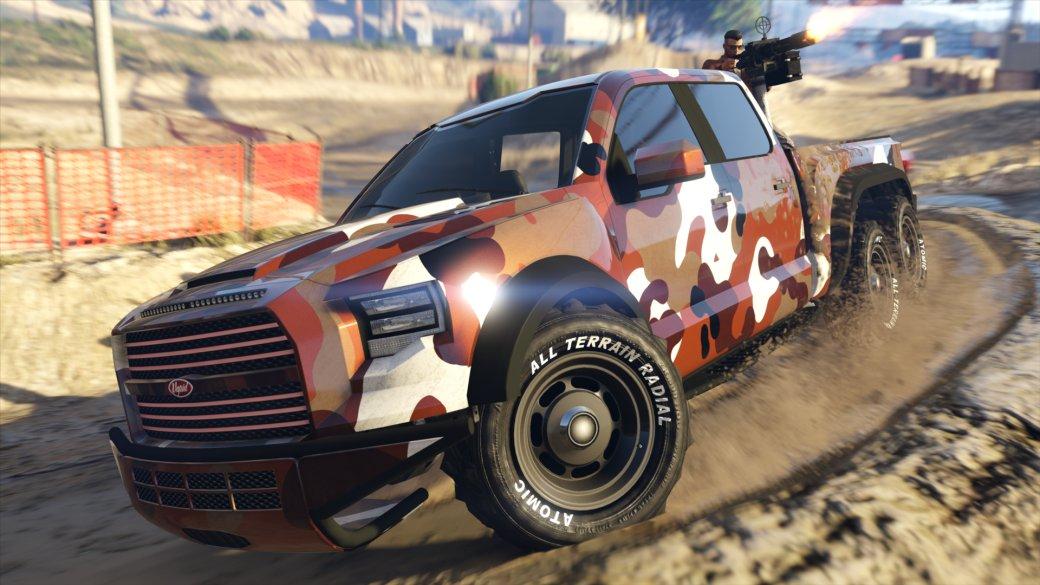 В новом гоночном режиме GTA Online придется метко стрелять. Привыкайте!. - Изображение 1