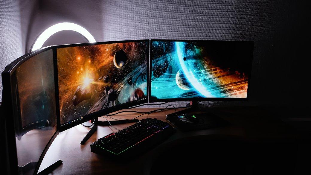 Блажь или будущее? Зачем компьютеру больше одного экрана, икак играть натрех мониторах сразу | Канобу - Изображение 1
