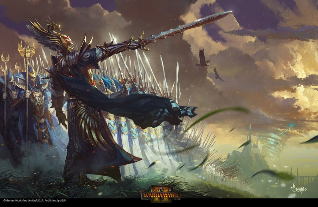 Взгляните напотрясающие концепт-арты Total War: Warhammer II. - Изображение 1