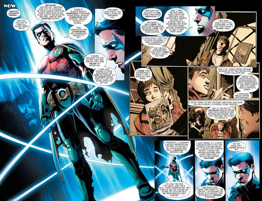 Бэтмен будущего, данетот: как два Тима Дрейка встретились настраницах комикса DC. - Изображение 2