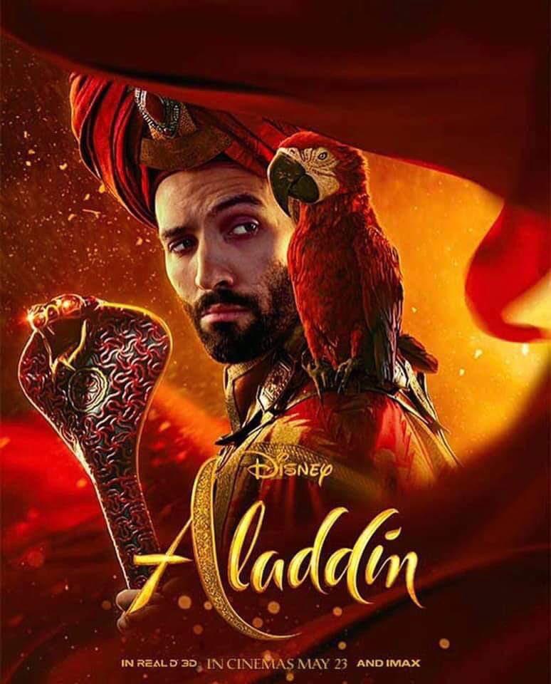 Нановых постерах «Аладдина» представили вовсей красе персонажей будущего фильма   Канобу - Изображение 7117