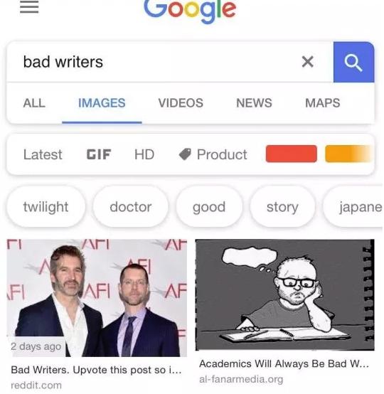 Теперь Google по запросу «плохие сценаристы» выводит шоураннеров «Игры престолов»   Канобу - Изображение 2