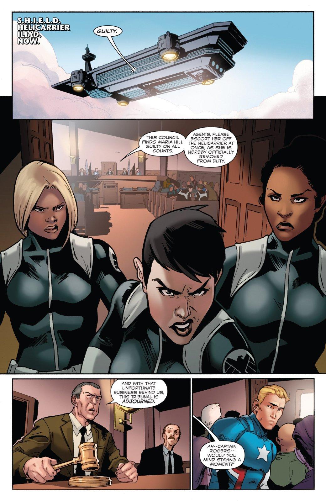 В эпилоге Civil War II Капитан Америка-агент Гидры стал главой ЩИТ | Канобу - Изображение 5096