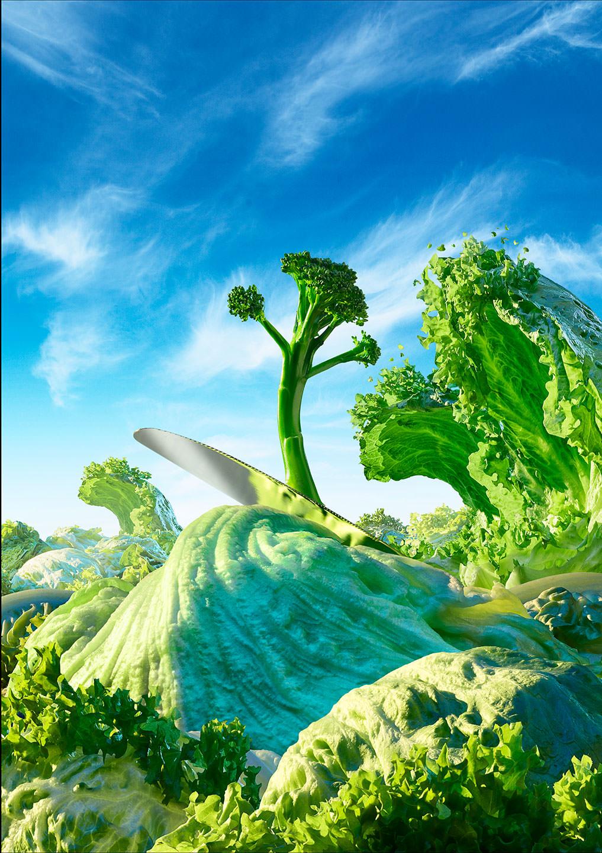 Фотограф создает сказочные пейзажи, используя только еду   Канобу - Изображение 13816