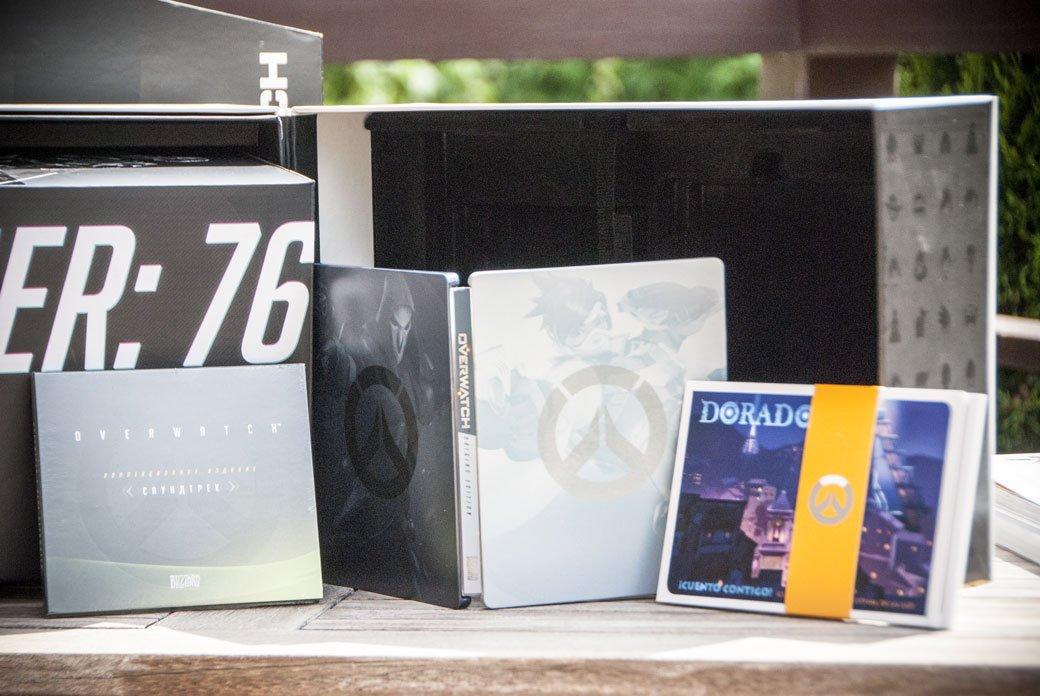 Распаковка коллекционного издания Overwatch | Канобу - Изображение 4