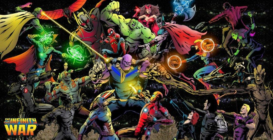 Лучшие материалы офильме «Мстители: Война Бесконечности». - Изображение 1