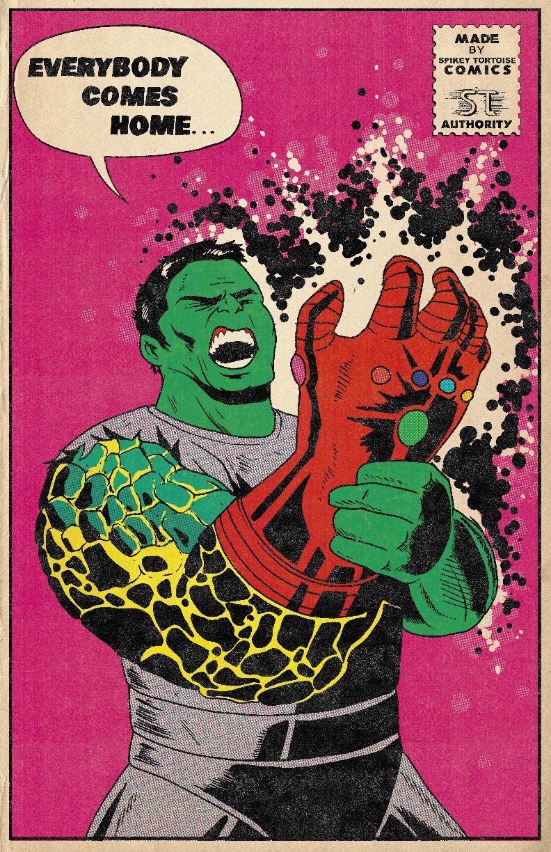 Фанат Marvel рисует знаменитые сцены из фильмов в стилистике классических комиксов  | Канобу - Изображение 6