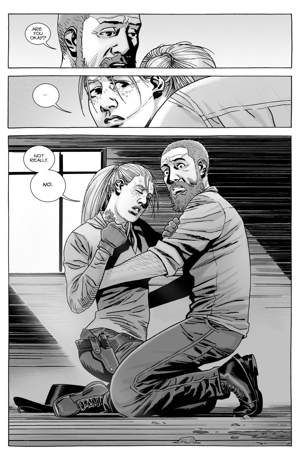 Кто погиб в новом номере комикса «Ходячие мертвецов»?   Канобу - Изображение 10771