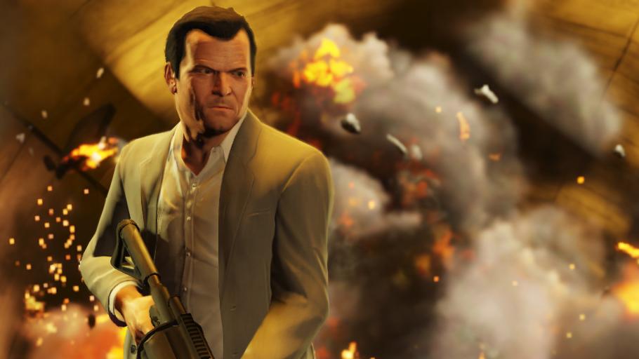 Гифка дня: когда несмог выпустить пар вGrand Theft Auto5 | Канобу - Изображение 1
