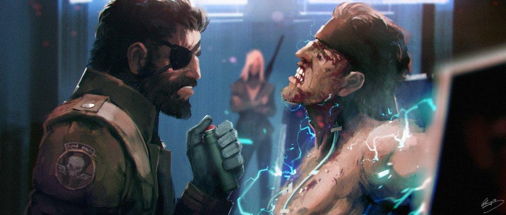 Замечательные фанарты к31-летию Metal Gear отрежиссера ееэкранизации | Канобу - Изображение 23