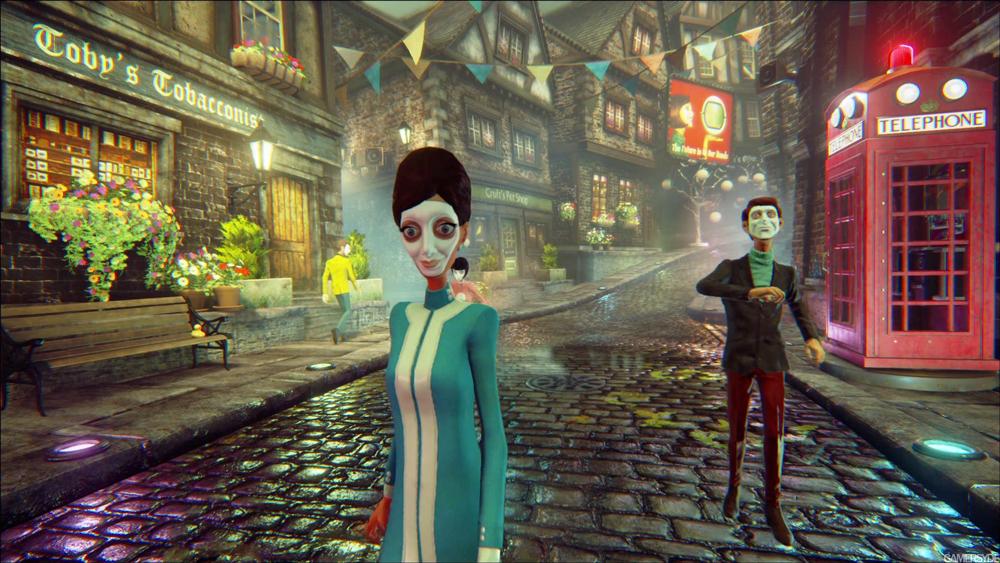 Вау! Авторы We Happy Few выложили стильный геймплейный трейлер игры с кучей эпика | Канобу - Изображение 1