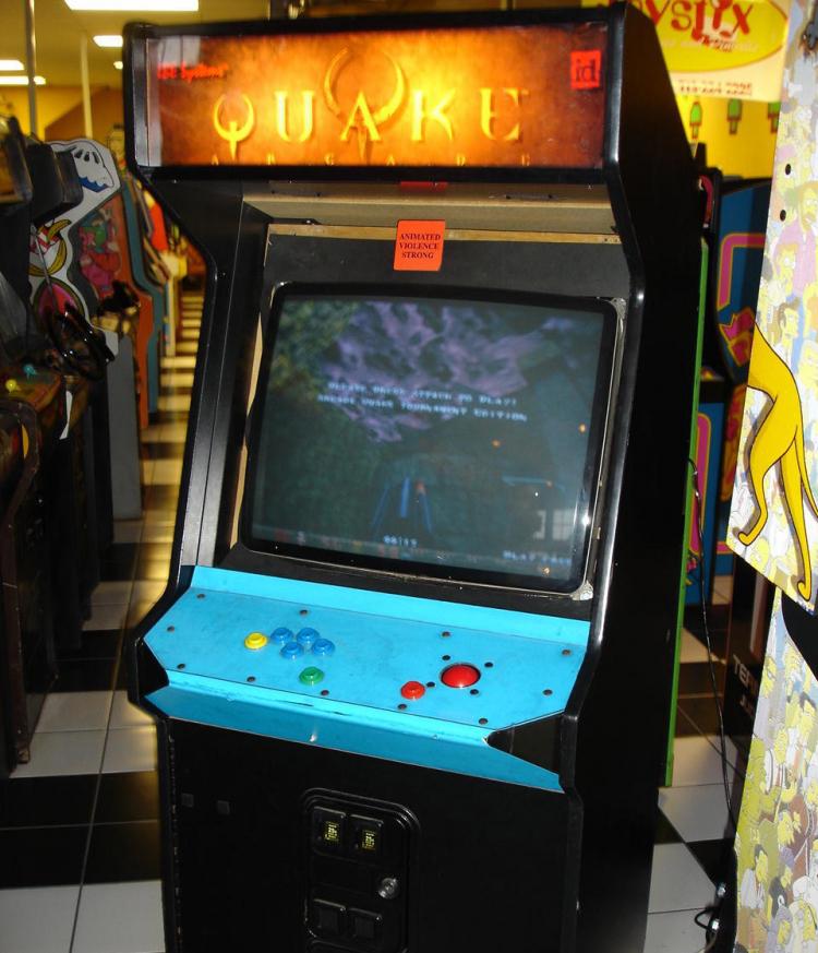 Quake для аркадных автоматов смогли запустить наПК. Потребовалось всего 22 года   Канобу - Изображение 4812