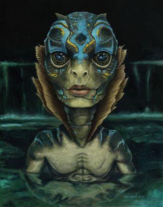 13 потрясающих артов «Формы воды» (один закаждую номинацию фильма на«Оскар»). - Изображение 13