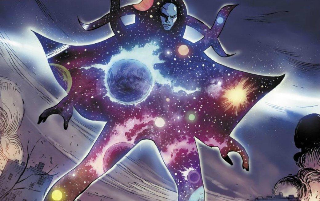Bosslogic представил, какбы выглядела вкиновселенной Marvel могущественная сущность— Вечность | Канобу - Изображение 1