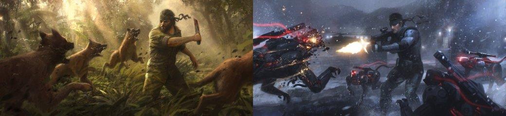Замечательные фанарты к31-летию Metal Gear отрежиссера ееэкранизации | Канобу - Изображение 26