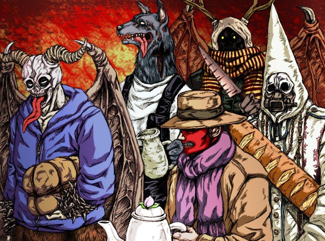 Дым имясо Dorohedoro— рассказываем, почему манга про мир победившего сатанизма достойна внимания | Канобу - Изображение 8686