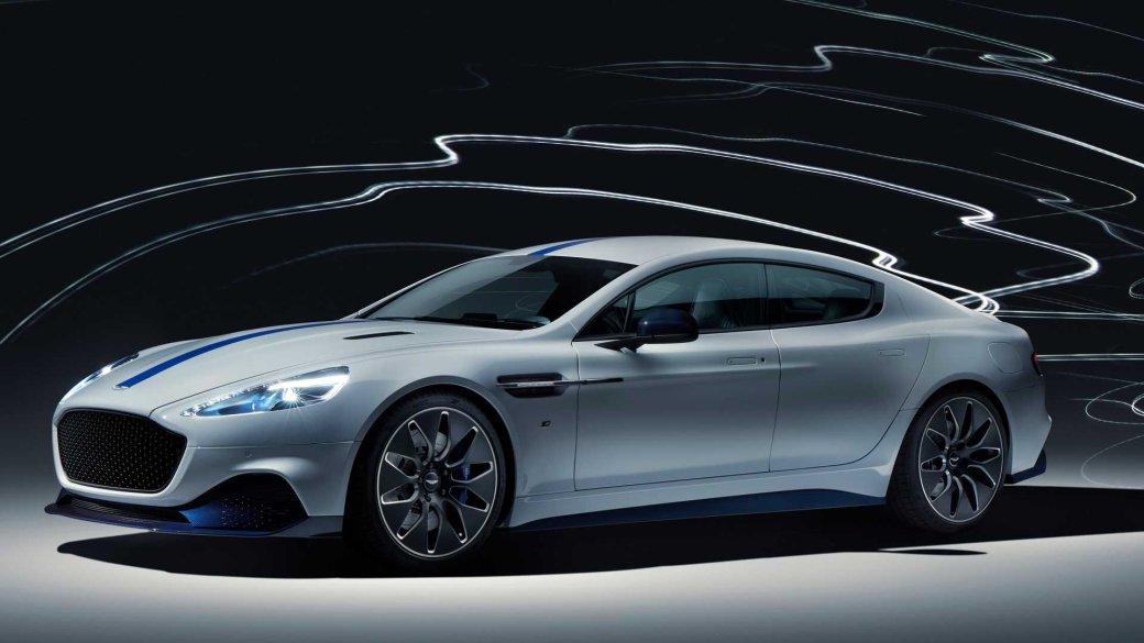Для будущего Джеймса Бонда: Aston Martin представила свой первый спортивный электрокар Rapide E