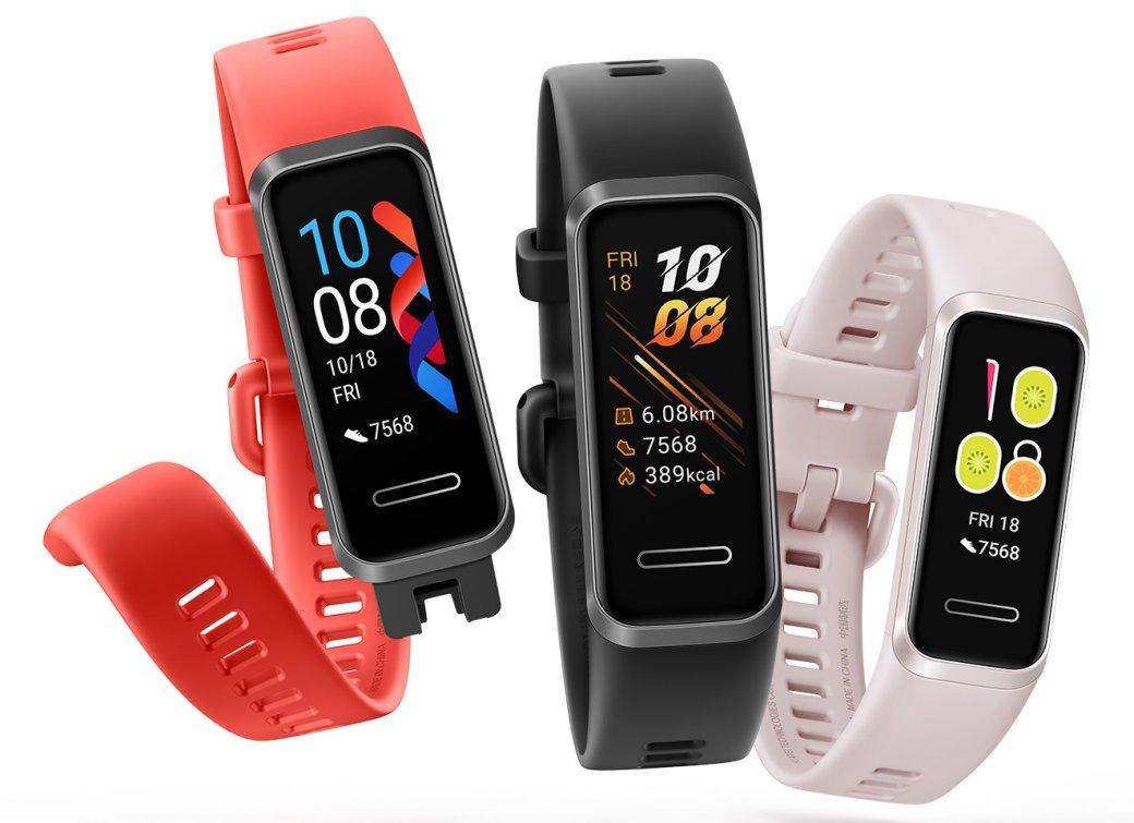 ВРоссию официально привезли фитнес-трекер Huawei Band4 | Канобу - Изображение 0