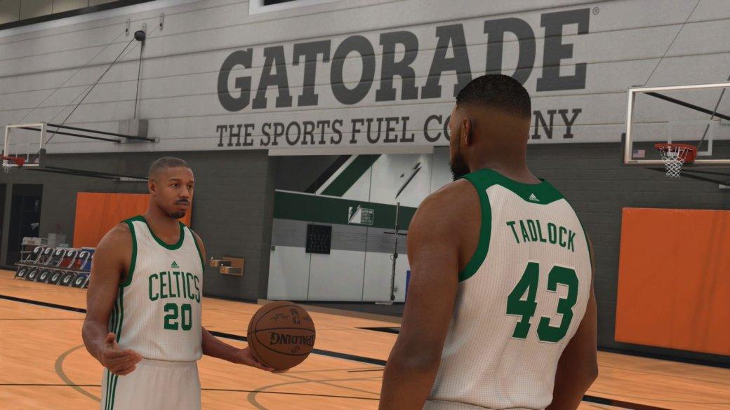 Звезда «Крида» Майкл Б. Джордан снялся в сюжетной кампании NBA 2K17   Канобу - Изображение 1357