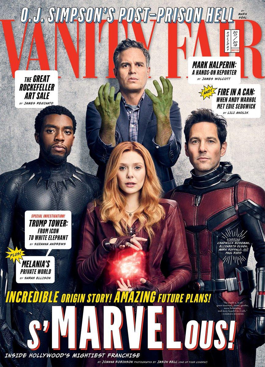 Героично: вжурнале Vanity Fair показали новые фото персонажей «Войны бесконечности» | Канобу - Изображение 421