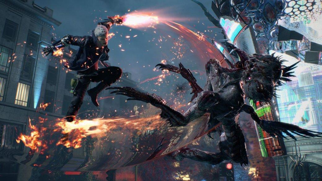 Авторы Devil May Cry V гордятся DmC от Ninja Theory, поэтому использовали некоторые ее приемы в игре. - Изображение 1