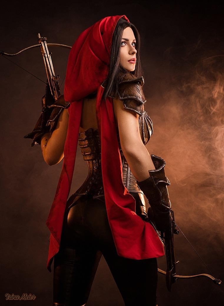 Горячий косплей Охотницы на демонов из Diablo III   Канобу - Изображение 5