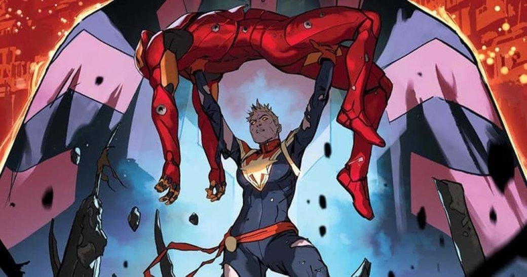 Умная фанатская теория предполагает, что Тони Старк уже знает осуществовании Капитана Марвел в MCU | Канобу - Изображение 2