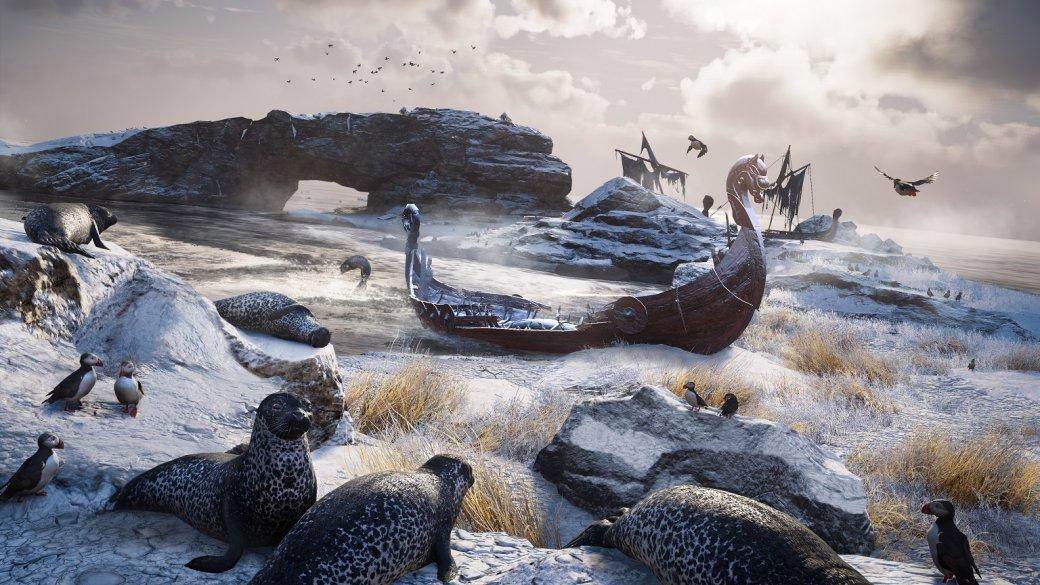 5 часов сAssassin's Creed: Valhalla. Серию больше непытаются превратить вRPG— иэто здорово | Канобу - Изображение 7282
