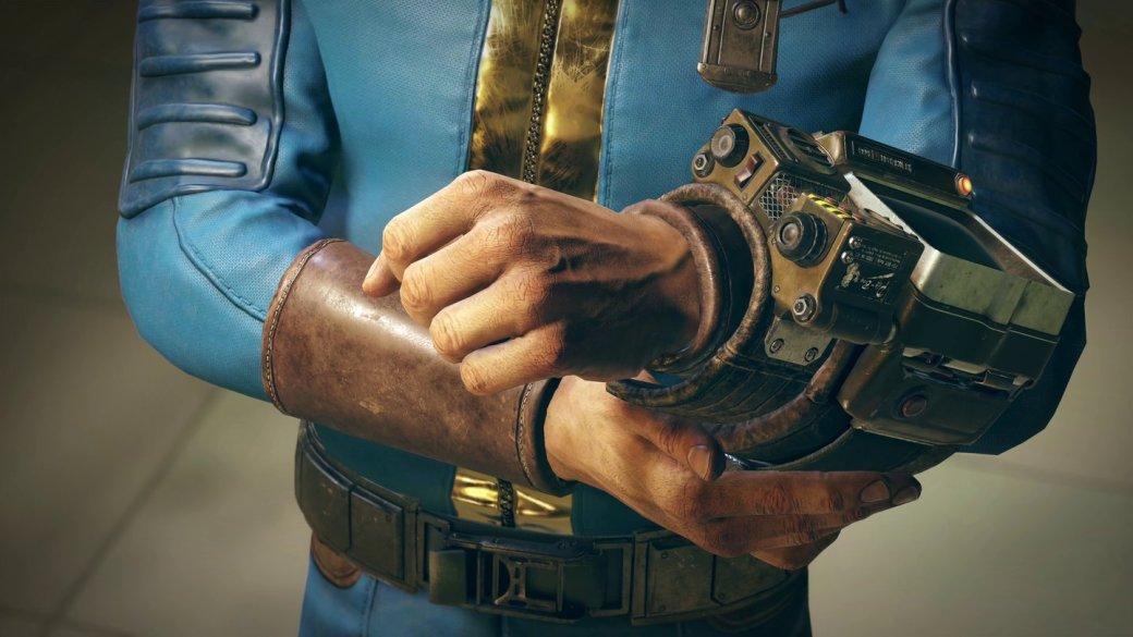 Из-за бага в Fallout 76 силовая броня «раздевает» догола персонажей и деформирует их конечности | Канобу - Изображение 1