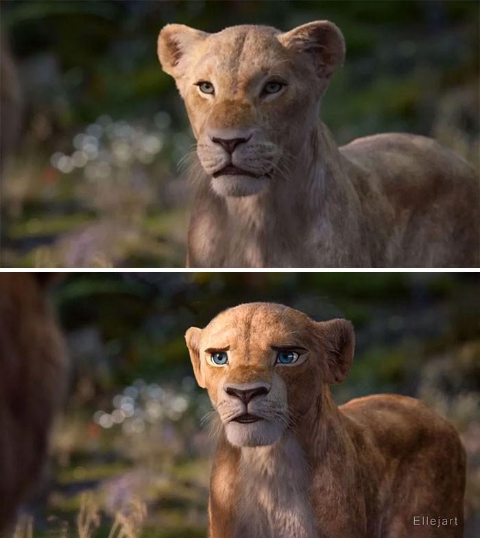 Художник перерисовал персонажей ремейка «Короля льва» в стиле оригинального мультфильма | Канобу - Изображение 8137