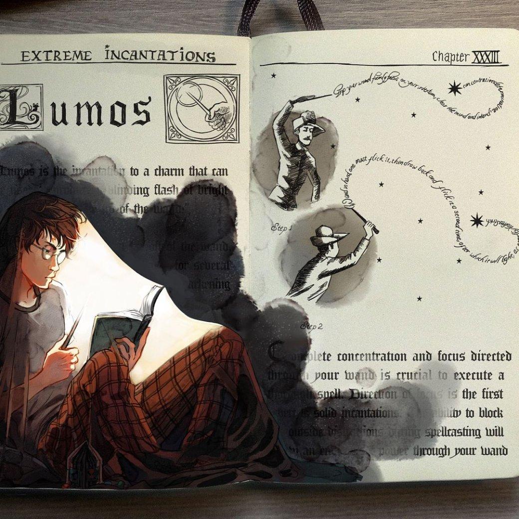 Художник нарисовал очень красивые иллюстрации по книгам о Гарри Поттере | Канобу - Изображение 4467