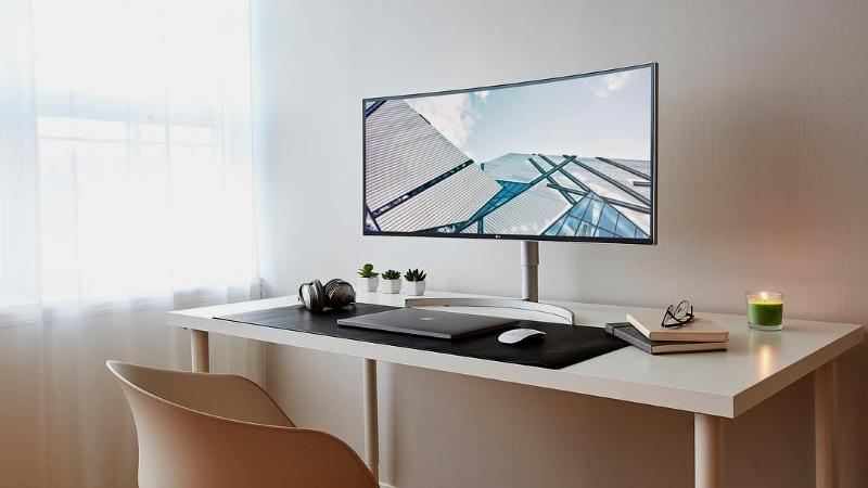 LGпредставила нароссийском рынке новый широкоформатный монитор сHDR10 и разрешением QHD+. - Изображение 1