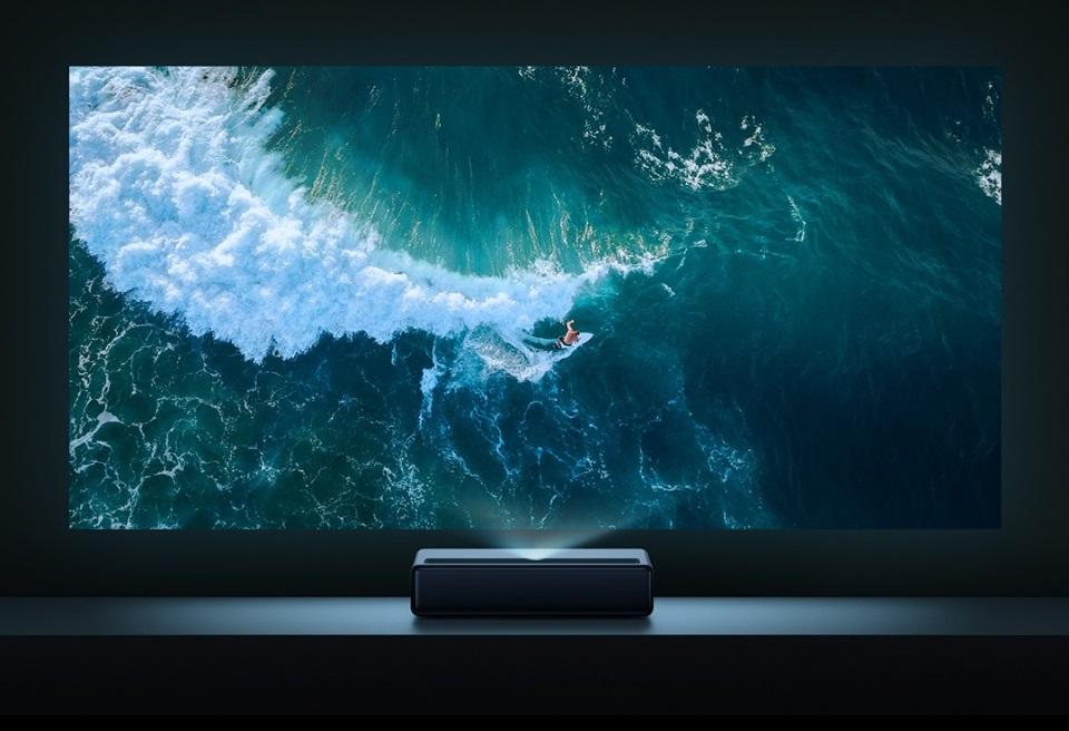 Анонс Xiaomi Mijia Laser Projection TV 4K: 4К-проектор с диагональю вывода картинки до 150 дюймов | Канобу - Изображение 1