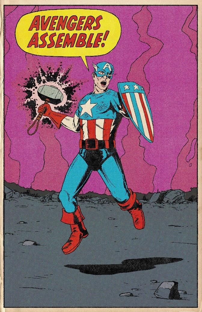 Фанат Marvel рисует знаменитые сцены из фильмов в стилистике классических комиксов  | Канобу - Изображение 5