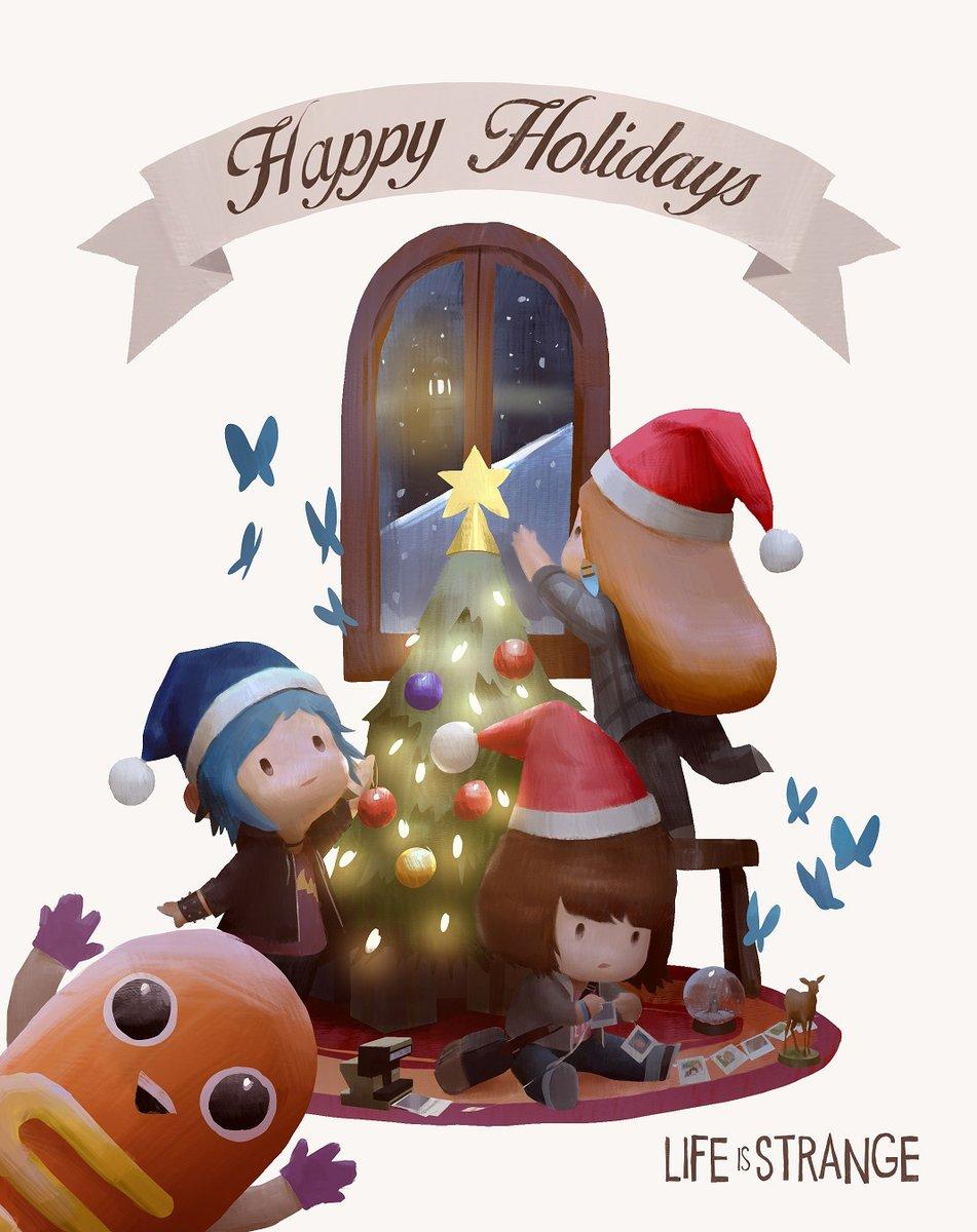 С праздниками! Подборка рождественских и новогодних открыток от игровых разработчиков. - Изображение 5