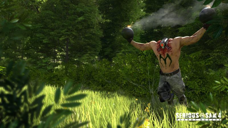 СЕМЕЧКИ на новых скриншотах Serious Sam 4: Planet Badass. Сэм заглянет в наши края?. - Изображение 4