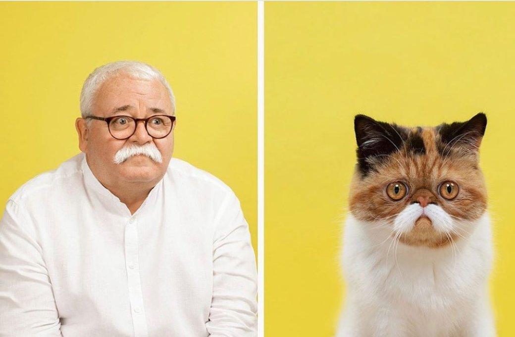Фотограф делает снимки людей икотов, которые выглядят как двойники | Канобу - Изображение 10529